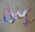 Linen flower by ellejayess