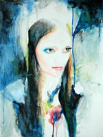 April portrait by ellejayess