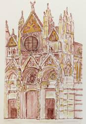 Sienna's Duomo by ellejayess
