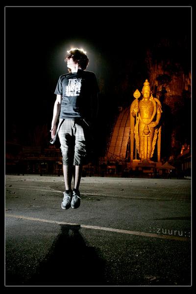 The Saint by zuuru