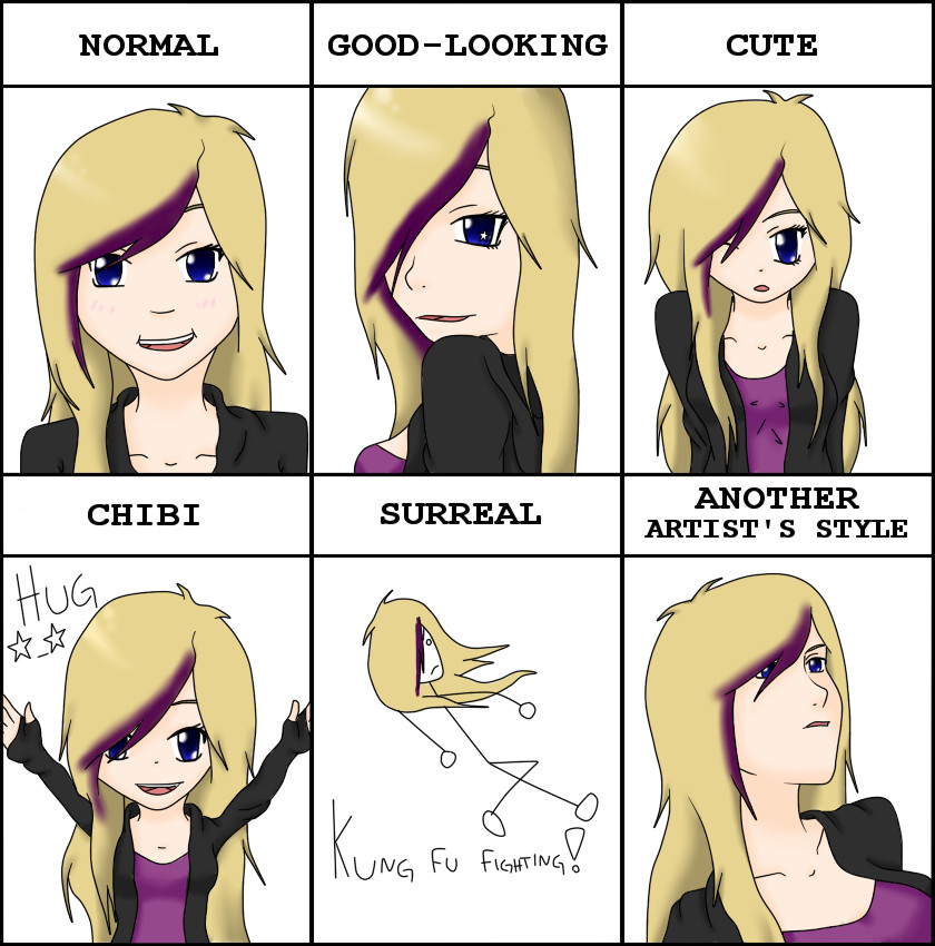 Scribble Drawing Style : Drawing styles meme by bossykrissy on deviantart