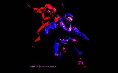 Halo reach meets TRON by Metaloz