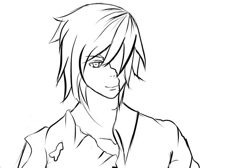 jack coloring pages - eyeless jack free coloring pages