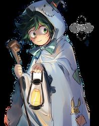 Izuku Midoriya Render Halloween by argaten166