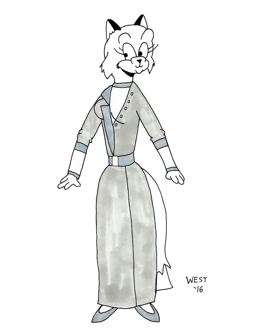 Hilda Costume Study 2
