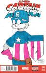 Captain America Rusty Cover