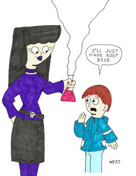 Horror Comedy Concept 1