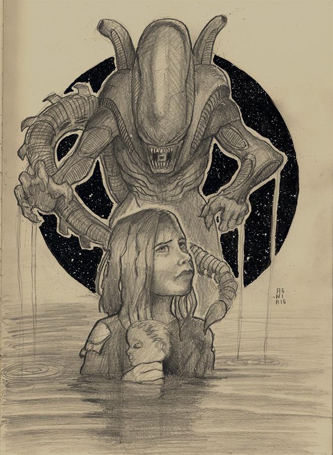 Alien by anatheme