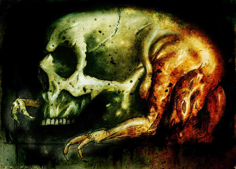 Lebewesen aus holle by anatheme