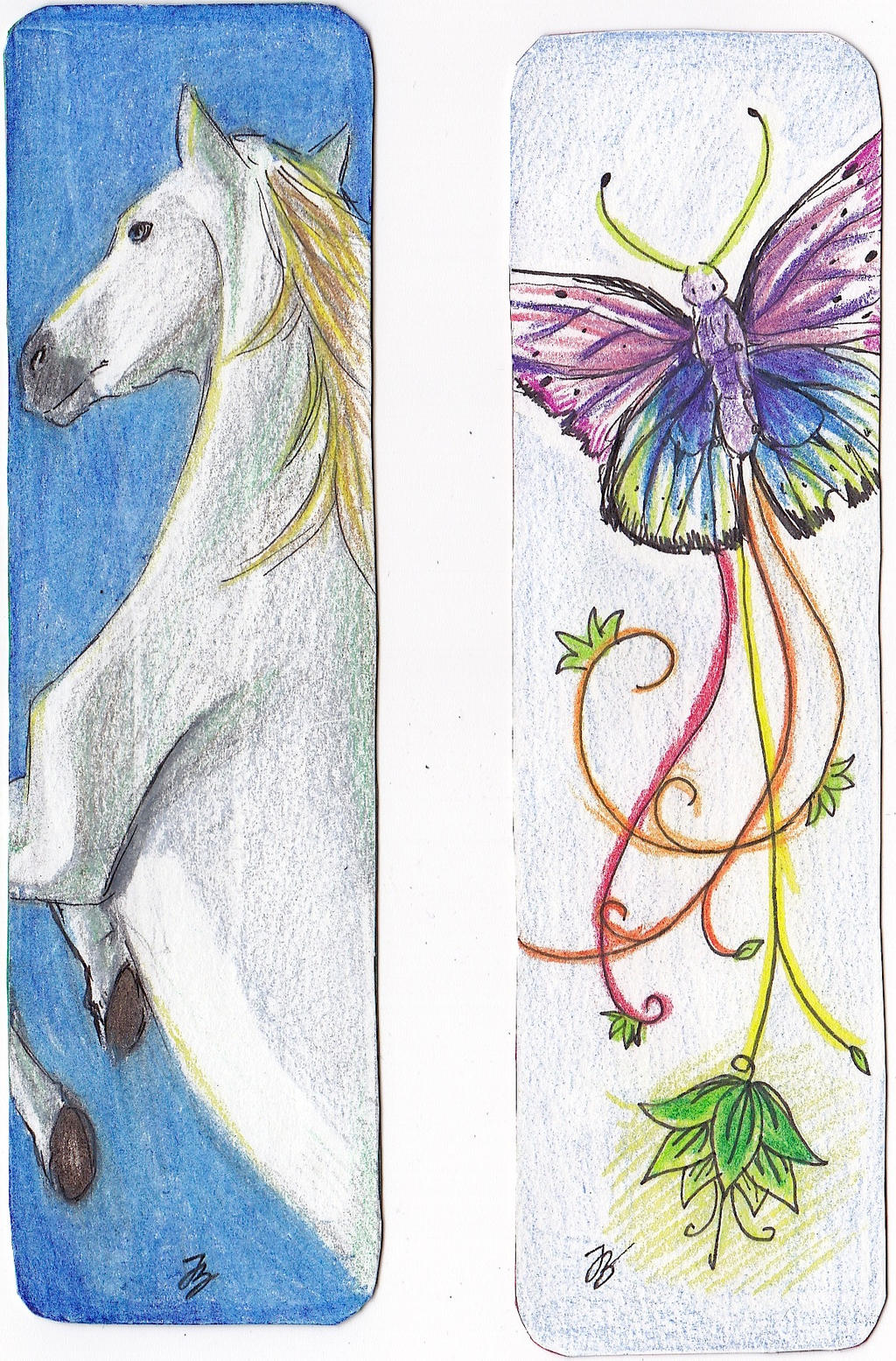 New Bookmark Designs Set 3 By Xiaooyu On DeviantArt