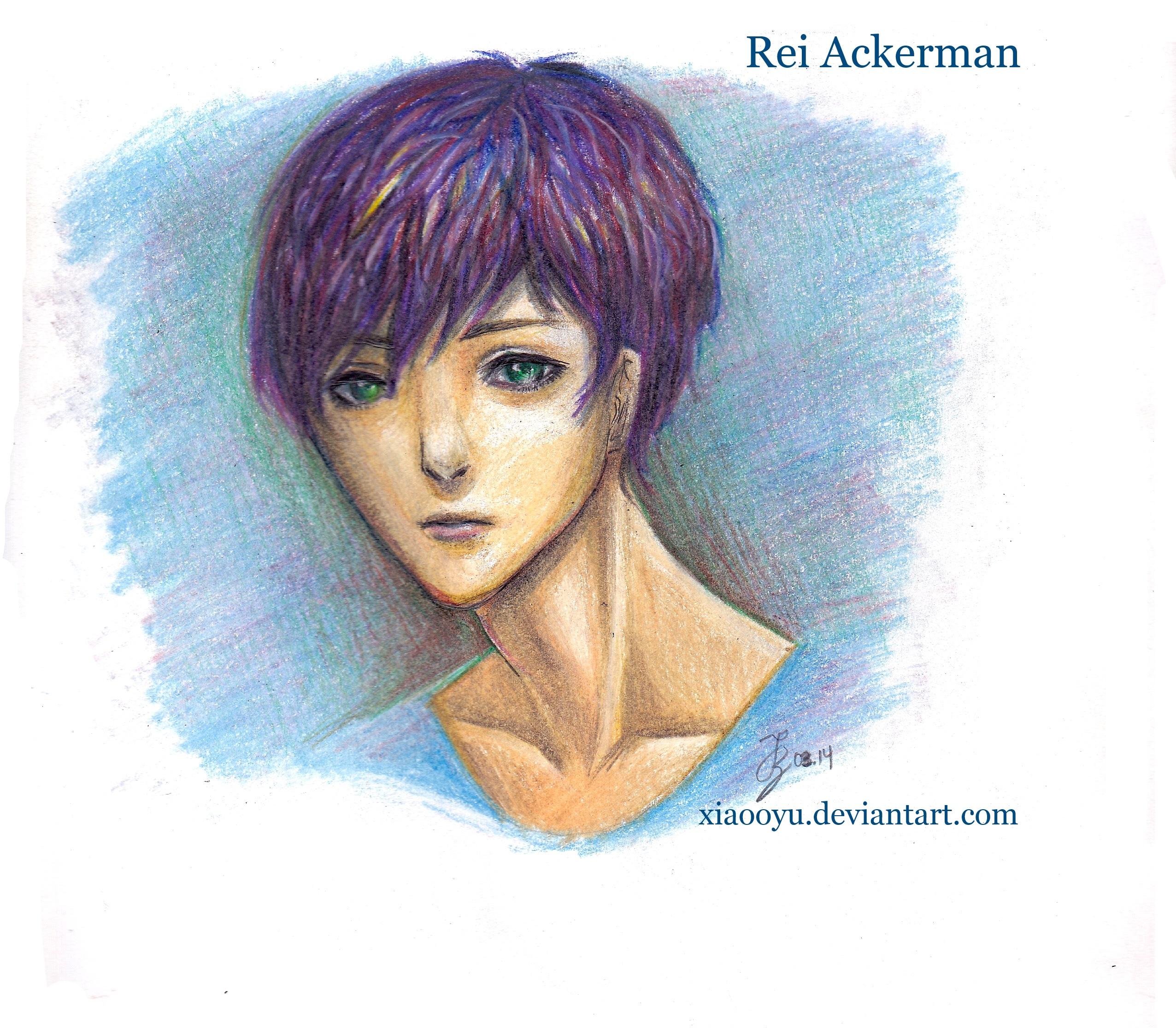 Rei Ackerman By Xiaooyu On DeviantArt
