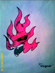 Buu Tattoo 1 by silgan by The-Majin-Buu-Club