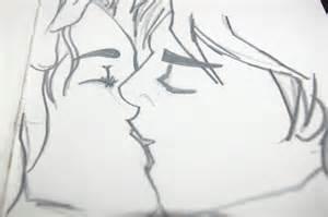 Peeta And Katniss Kissing by seth-whetzel