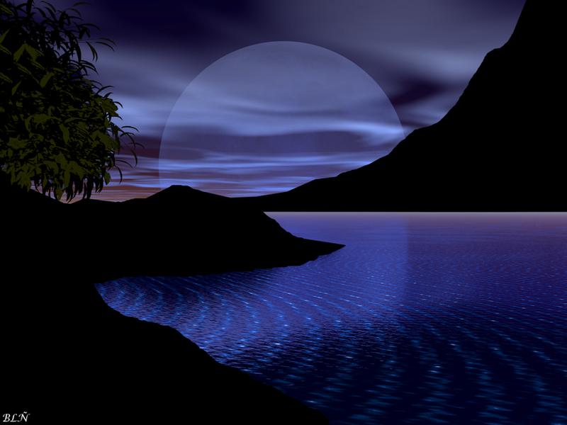 Full Moon by LaraBLN