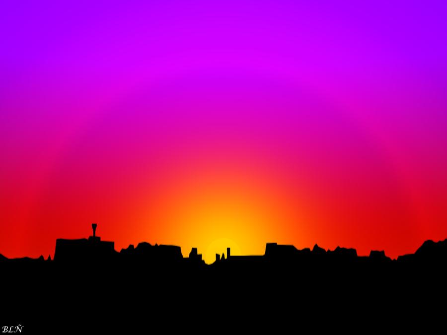 Sunset by LaraBLN