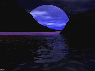 Blue Moon... by LaraBLN
