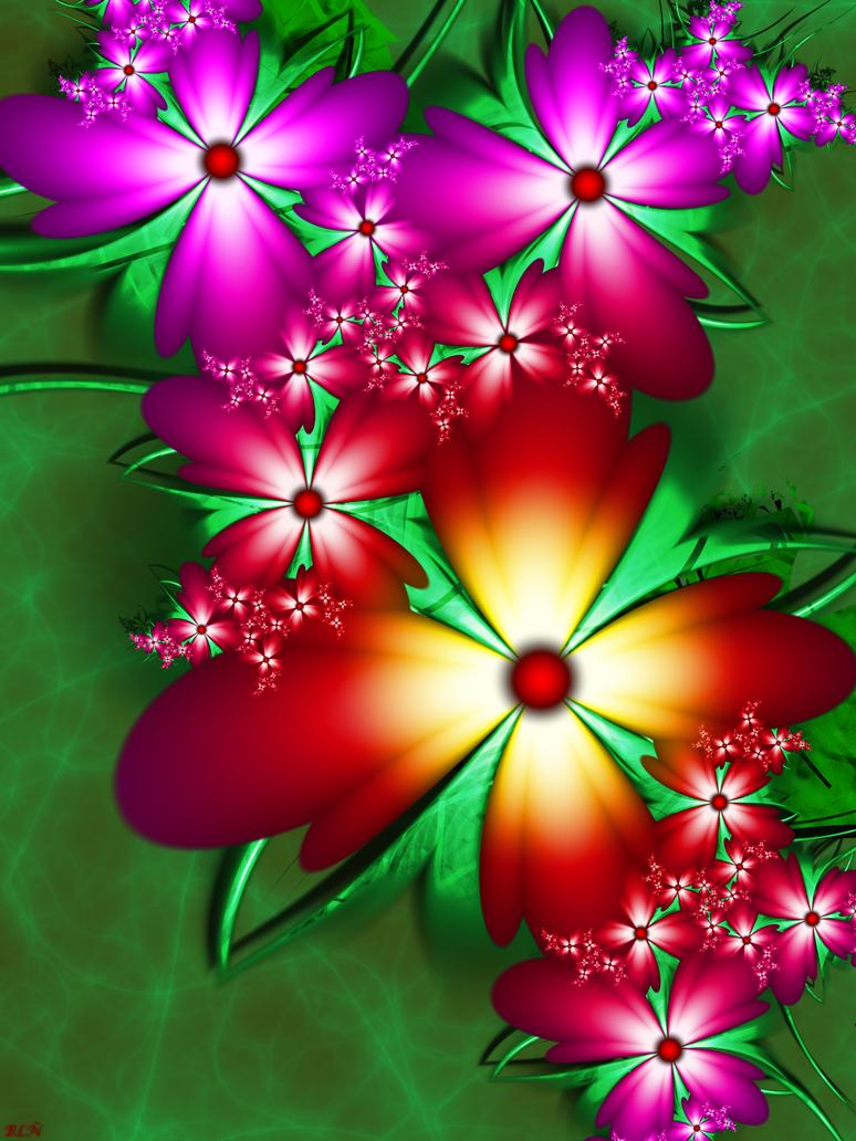 Flowers for Birthdays by LaraBLN