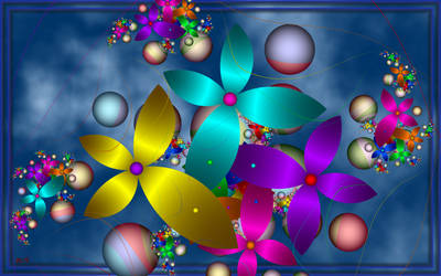 Flowers Universe by LaraBLN