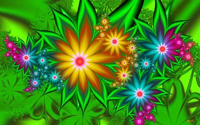 Imaginary Garden by LaraBLN