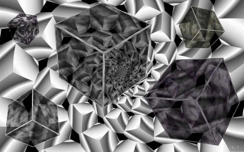 Cubes Enigma by LaraBLN