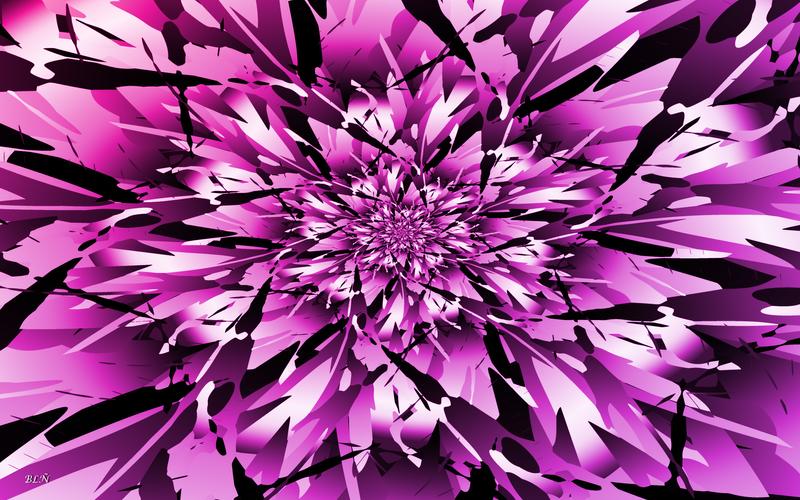Strange brushstrokes by LaraBLN