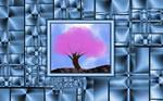 Sakura Tree Canvas by LaraBLN