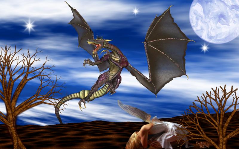 El Dragon y el Hada by LaraBLN