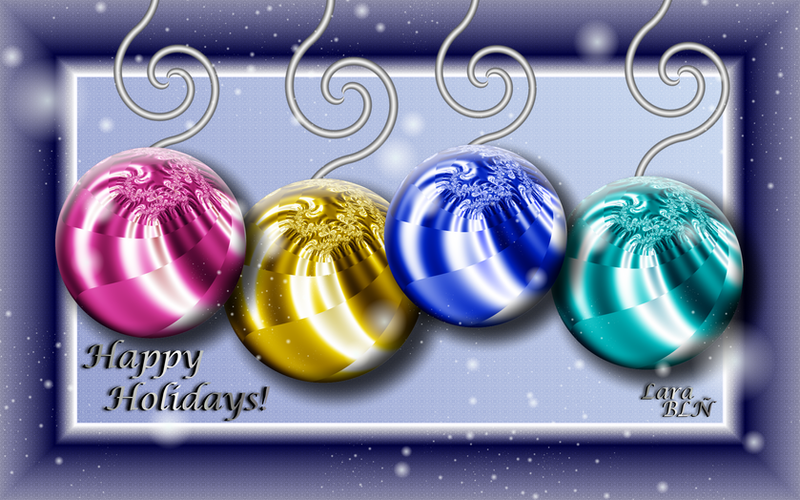 Happy Holidays Card by LaraBLN