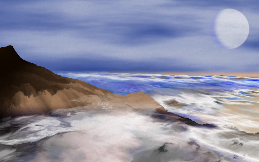 Pinceladas del Mar - Brushstrokes from the Sea by LaraBLN