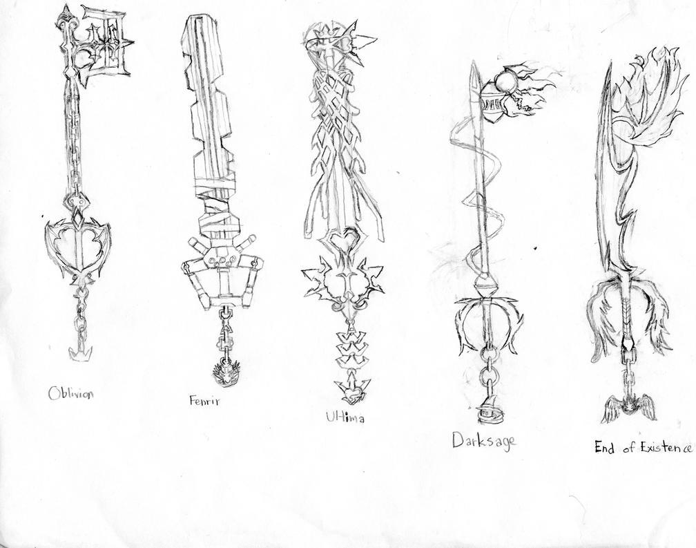 Xeno's Keyblade List by L-JayYokuFox on DeviantArt
