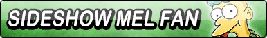 Sideshow Mel Fan Button