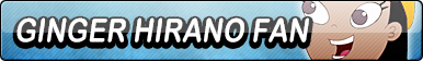 Ginger Hirano Fan Button