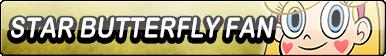 Star Butterfly Fan Button