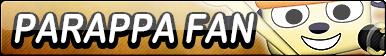 PaRappa The Rapper Fan Button