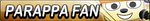 PaRappa The Rapper Fan Button by EdaTheOwlLady