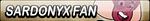 Sardonyx Fan Button by EdaTheOwlLady