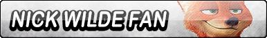 Nick Wilde Fan Button by TaffytaMuttonfudge