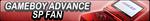 GameBoy Advance SP Fan Button by EclipsaButterfly