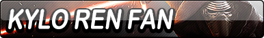 Kylo Ren Fan Button
