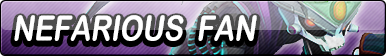 Nefarious Fan Button