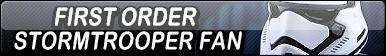 First Order Stormtrooper Fan Button