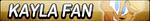 Kayla Fan Button by EdaTheOwlLady