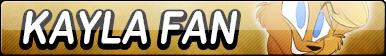 Kayla Fan Button by TaffytaMuttonfudge