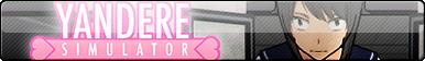 Yandere Simulator Fan Button by EclipsaButterfly