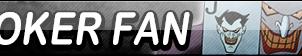 Joker Fan Button by EclipsaButterfly