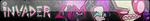 Invader Zim Fan Button by EclipsaButterfly