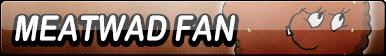 Meatwad Fan Button