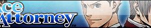 Ace Attorney Fan Button by EclipsaButterfly
