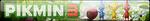 Pikmin 3 Fan Button by EclipsaButterfly