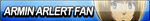 Armin Arlert Fan Button by EdaTheOwlLady